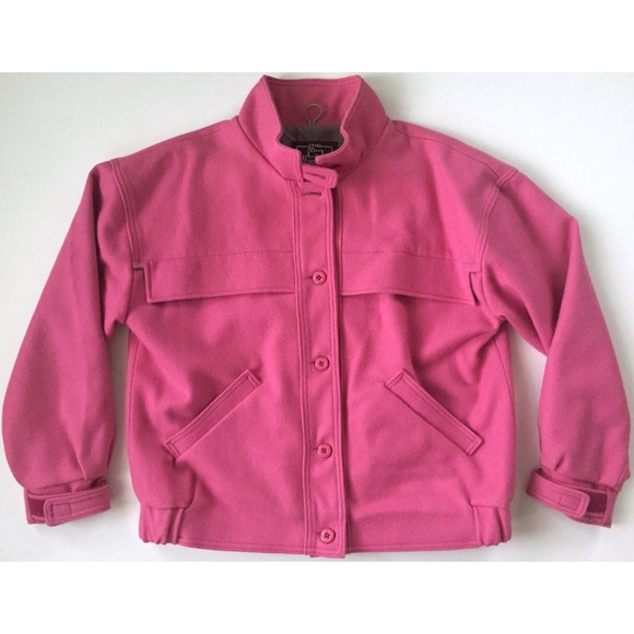 Woolrich Jackets & Blazers - WOOLRICH WOMAN Pink 100% Virgin Wool Coat Jacket